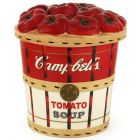 Official Campbell Soup Company Collectibles and Cookbooks |Campbell's Bushel Basket Cookie Jar
