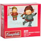 Official Campbell Soup Company Collectibles and Cookbooks |Campbell Kids Winter-themed Puzzle