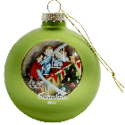 Official Campbell Soup Company Collectibles and Cookbooks |RETIRED 2017 Campbell Kids� Annual Dated Ball Ornament