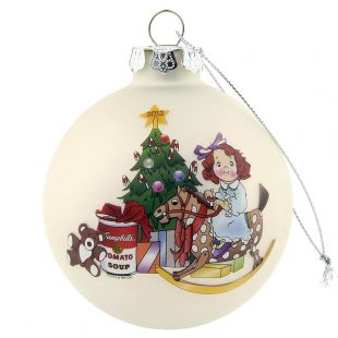 Official Campbell Soup Company Collectibles and Cookbooks |RETIRED 2012 Campbell Kids� Annual Dated Ball Ornament