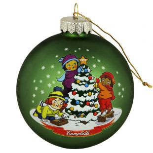 Official Campbell Soup Company Collectibles and Cookbooks |RETIRED 2013 Campbell Kids� Annual Dated Ball Ornament