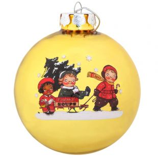 Official Campbell Soup Company Collectibles and Cookbooks |RETIRED 2011 Campbell Kids� Annual Dated Ball Ornament