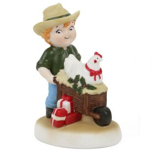Official Campbell Soup Company Collectibles and Cookbooks |Campbell Kids� Three French Hens Figurine