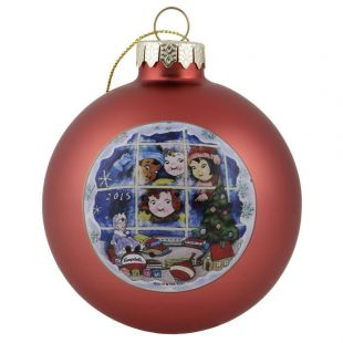Official Campbell Soup Company Collectibles and Cookbooks |RETIRED 2015 Campbell Kids� Annual Dated Ball Ornament