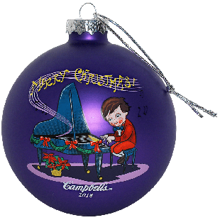 2018 Campbell Kids™ Annual Dated Ball Ornament