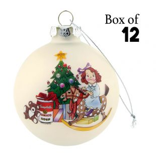 2012 Campbell Kids™ Ball Ornament (Case of 12)