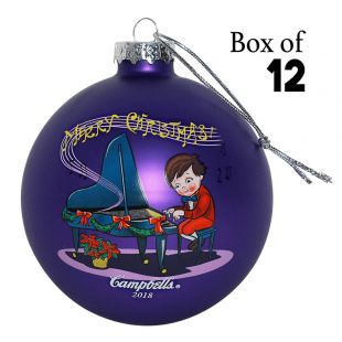 2018 Campbell Kids™ Ball Ornament (Case of 12)