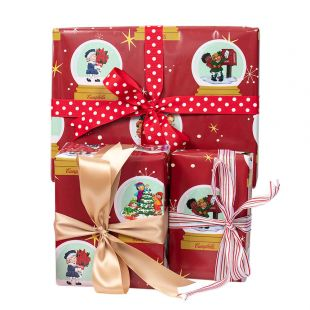 Official Campbell Soup Company Collectibles and Cookbooks |Campbell Kids� Holiday Wrapping Paper