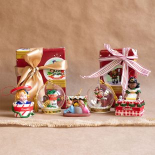 Festive Holiday Memory Ornament Set